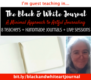 The Black and White Journal, A minimal approach to artful journaling