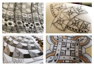 Zentangle Grid Intensive