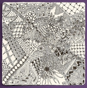 Fibonacci zentangle tiles tangle vermont for Zentangle tile template