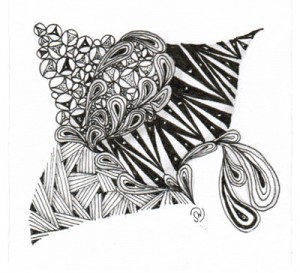 sample Zentangle art
