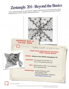 Zentangle 201: Beyond Basics