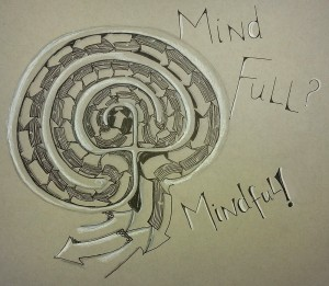 Mindfulness Tangled Labyrinth by Sadelle Wiltshire, CZT
