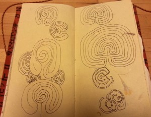 Playing with labyrinths