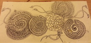 Tangled labyrinths in Journal