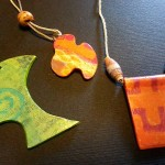 Gelli Print Jewelry by Sadelle Wiltshire