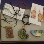 watercolor jewelry samples