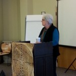 Rev. Dr. Lauren Artress at Facilitator training, Trinity Cathedral, Cleveland, OH