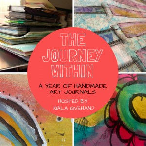 The Journey Within 2016, a year of handmade journals and art journaling