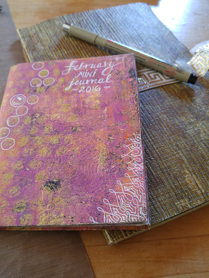 February journals - prototype and main journal
